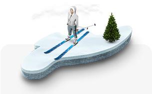 Ski-Langlauf